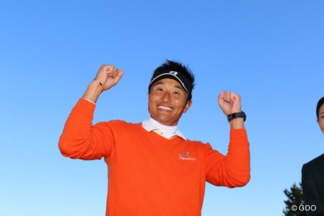 宮本勝昌が9月の「ANAオープン」以来となるツアー通算10勝目、1998年、2001年に続く大会3勝目を挙げた