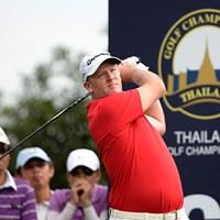 マーカス・フレイザーが通算5アンダーとし、3日目に首位に立った(アジアンツアー提供) 2014年 タイランドゴルフ選手権 3日目 マーカス・フレイザー