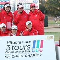21.5ポイントを獲得し3年ぶりの優勝を果たしたLPGA 2014年 Hitachi 3Tours Championship 最終日 LPGA