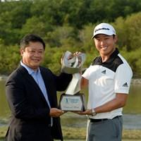 デビッド・リプスキーのアジアンツアー賞金王戴冠が決まった(アジアンツアー提供) 2014年 タイランドゴルフ選手権 最終日 デビッド・リプスキー