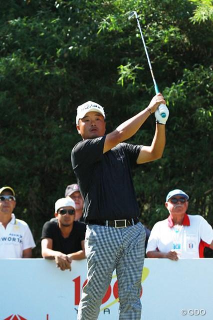 2014年 タイランドゴルフ選手権 2日目 小田孔明 小田孔明はタイ選手権で50位に終わり、世界ランクは5つ下がって58位となった