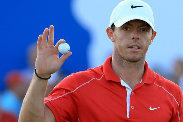ロリ-・マキロイ 欧州で年間最優秀ゴルファーに選出されたロリ-・マキロイ(David Cannon/Getty Images)