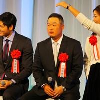 日本ハム・大谷翔平選手、小田孔明の隣で、イ・ボミは来年こそはと賞金女王獲得を誓った 2014年 小田孔明 イ・ボミ