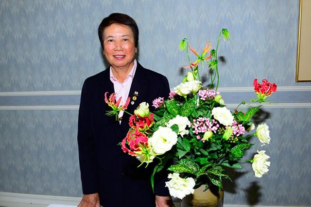 ゴルフ界では初となる文化功労者に選ばれた樋口久子・LPGA相談役 ※写真提供/LPGA