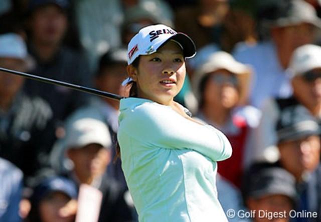 森田理香子 「早くシードを獲って、トーナメントに出れるように頑張ります!」という森田理香子