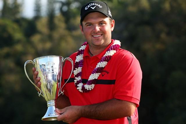 プレーオフを制し、逆転で今季初優勝を飾ったP.リード(Mike Ehrmann /Getty Images)
