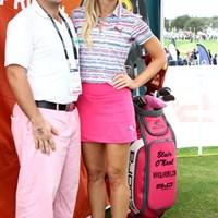 コブラゴルフ契約の人気女子プロ、ブレア・オニールも登場 2015年 PGAマーチャンダイズショー ブレア・オニール