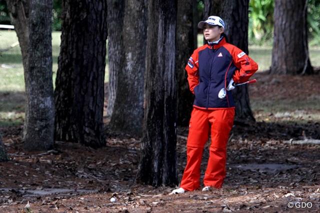 横峯さくらが開幕戦の出場権をかけた予選会に参戦。通過はならず、ウェイティングからの繰り上がりを待つ