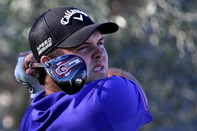 勝負強さが光る24歳。リードは大会連覇の可能性を残して最終日へ(Jeff Gross/Getty Images)