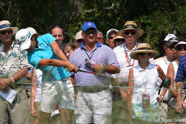 宮里藍 ドライバーの調子はいまいちだったが、我慢のゴルフでスコアを作った宮里藍