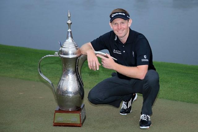 大会3連覇に挑むスコットランドのスティーブン・ギャラハー(David Cannon/Getty Images)