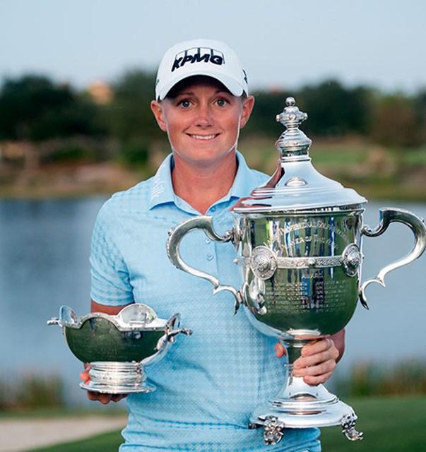 ルイスは今週フロリダ州で行われる開幕戦「コーツゴルフ選手権-」から、BS社製のTOUR B330RXボールを使用する予定(画像提供:ブリヂストンスポーツ)