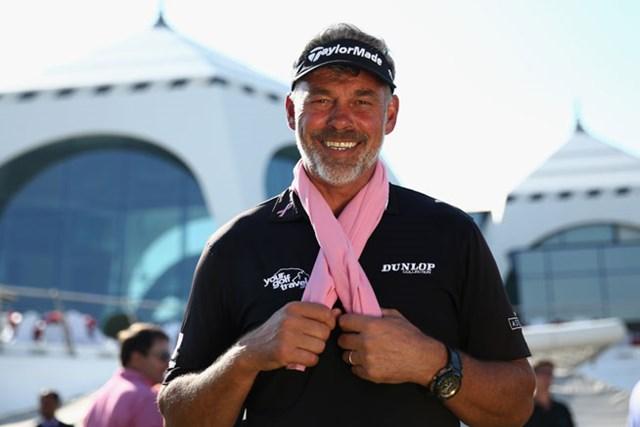 乳がんで妻を亡くしたD.クラークはピンクリボン活動を積極的に啓発。自ら財団を立ち上げている。(Warren Little/Getty Images)