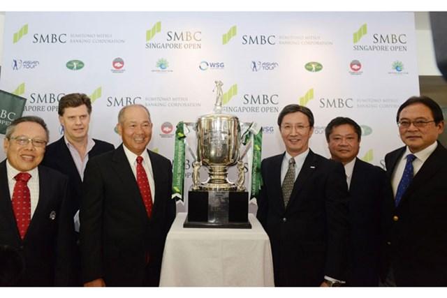 2016年にトーナメントに復帰するシンガポールオープンは三井住友銀行が冠スポンサーとなる※画像提供:アジアンツアー