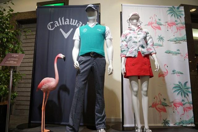 キャロアパ展示会15SS