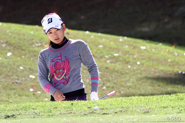 有村智恵は22位タイにつけた(撮影はコーツゴルフ選手権)