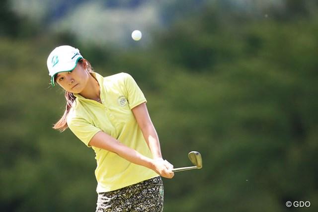 2日間スコアを伸ばして16位に入った森田遥(写真は2014年 ゴルフ5レディスプロゴルフトーナメント)