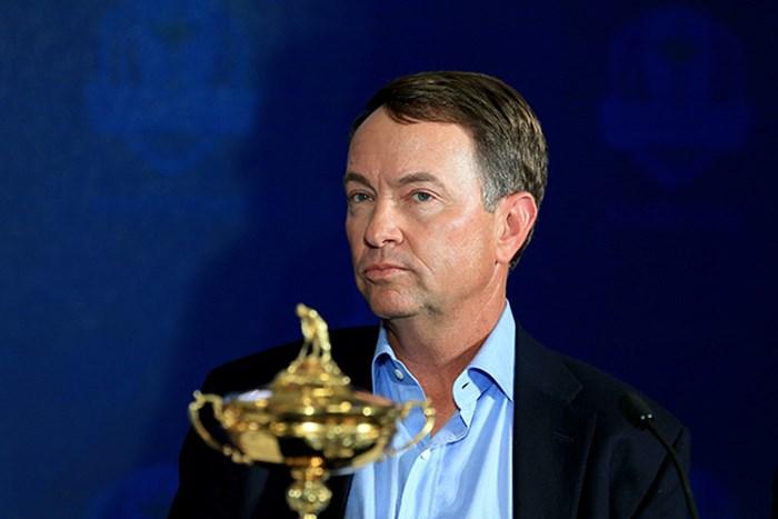 デービス・ラブIIIが2016年ライダーカップの米国代表主将に選ばれた(David Cannon/Getty Images) 2015年 ザ・ホンダクラシック 事前 デービス・ラブIII