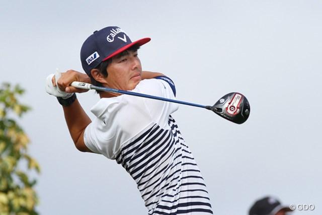 2015年度初、5試合ぶりの決勝ラウンド進出をトップ10圏内で決めた石川遼
