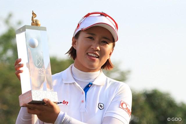 エイミー・ヤン 優勝したエイミー・ヤンが世界ランクを10位まで上げた