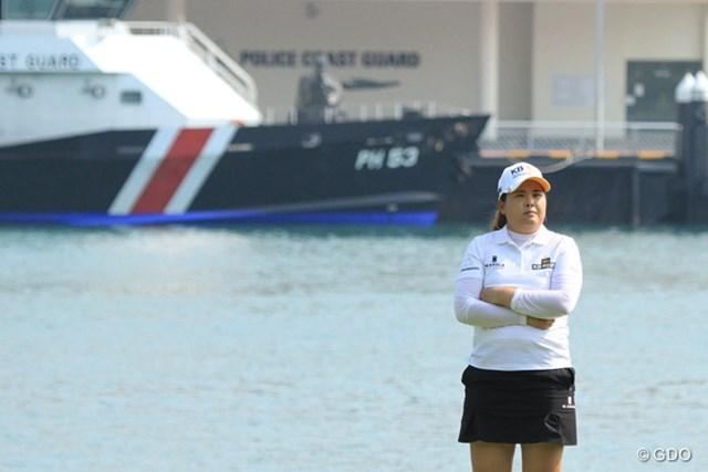 2015年 HSBC女子チャンピオンズ 初日 朴仁妃 世界1位返り咲きの野望も胸に秘め…朴仁妃が首位発進