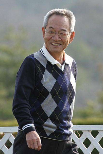 女子ツアーの隆盛を裏方として支えた諸岡誠彬さん(2012年4月撮影、提供:日本女子プロゴルフ協会)