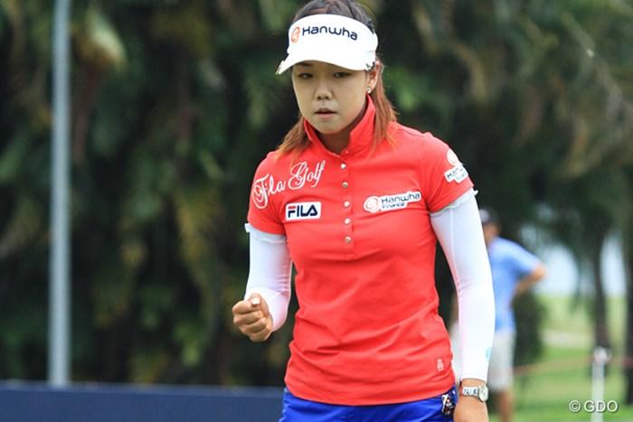 2015年 HSBC女子チャンピオンズ 2日目 ジェニー・シン