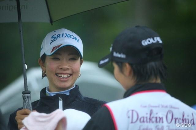 大会好相性の森田理香子が、首位と1打差2位発進