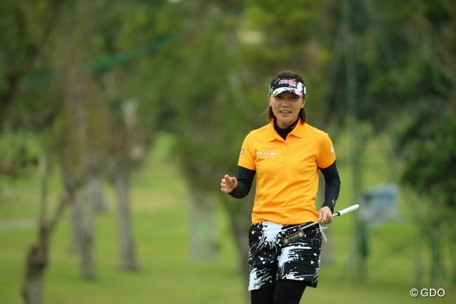 2014年「LPGAツアー選手権リコーカップ」から、年をまたいでの穴井詩と再対決に挑む