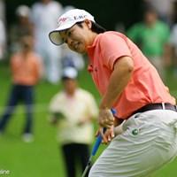 2位タイに終わり、今季初勝利を逃した阿蘇紀子 廣済堂レディスゴルフカップ最終日 阿蘇紀子