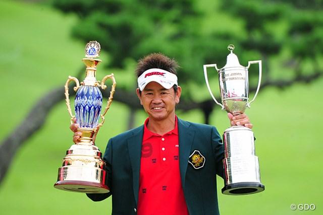 昨年は藤田寛之が悲願の地元優勝を果たし大粒の涙を流した