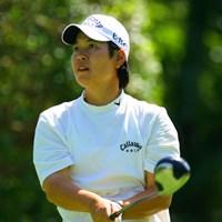 明日は最終日最終組で、ツアー初勝利に挑む阿蘇紀子 廣済堂レディスゴルフカップ2日目 阿蘇紀子
