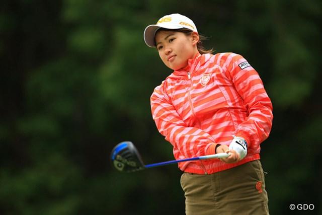 2015年 Tポイントレディス 初日 永井花奈 今年もまたプロゴルファーを脅かす最強のアマチュアとなりそうですね。1アンダー7位タイスタートの永井花奈