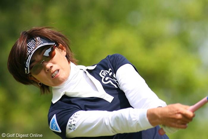 今度こそ悲願の初優勝を手にしたい白戸由香 屋島クイーンズゴルフトーナメント2日目 白戸由香
