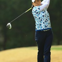 ベテランらしい粘りのゴルフで5位タイにジャンプアップ! 2015年 Tポイントレディス 2日目 斉藤裕子
