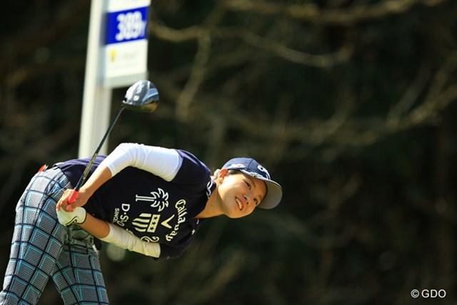 2015年 Tポイントレディス 2日目 藤田光里 何か見つかったかな?