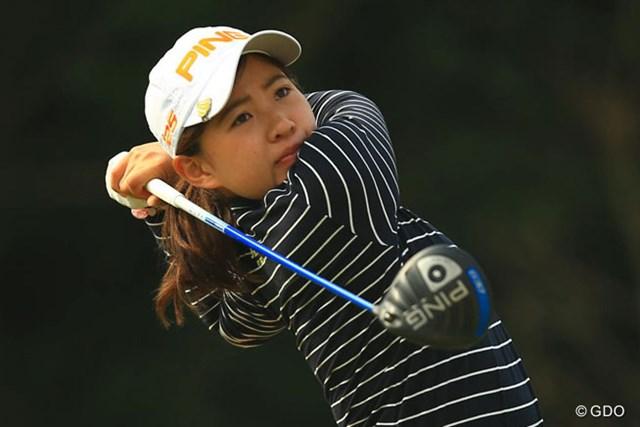 2年連続のトップ10フィニッシュはならなかったが、ベストアマに輝いた永井花奈