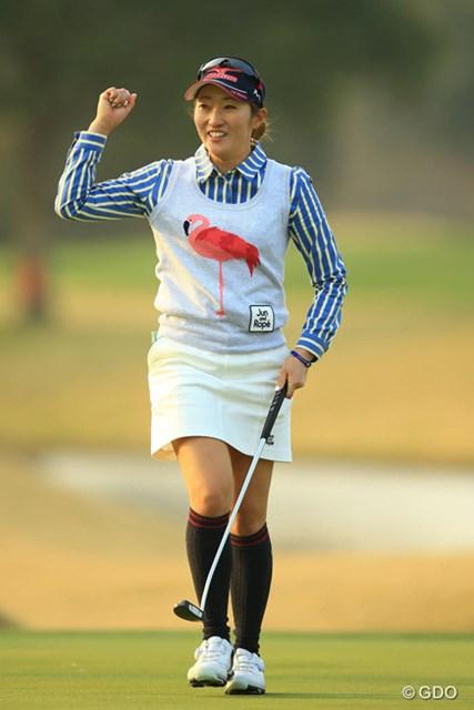"""長かった優勝までの道のり。飯島茜は""""最長プレーオフ""""の末に5年ぶりの優勝を手にした"""