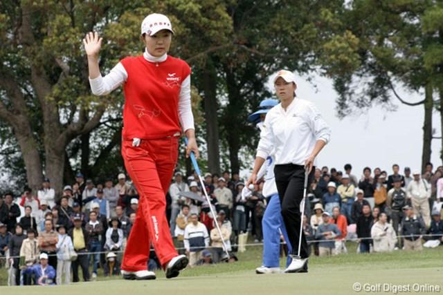 ライフカードレディスゴルフトーナメント最終日 辛ヒョンジュ 中盤まで優勝争いに踏みとどまっていたが辛ヒョンジュだったが・・・