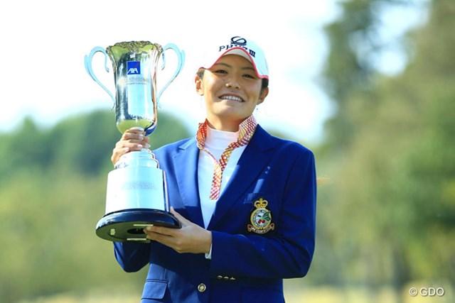 ディフェンディングチャンピオンは渡邉彩香。ツアー屈指の飛ばし屋が連覇を狙う