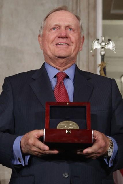 ジャック・ニクラスが米国市民最高の議会名誉黄金勲章を受章した(Chip Somodevilla/Getty Images)
