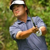 5位タイフィニッシュと最終日まで上位争いを演じた井手口正一 日本プロゴルフ選手権大会最終日 井手口正一