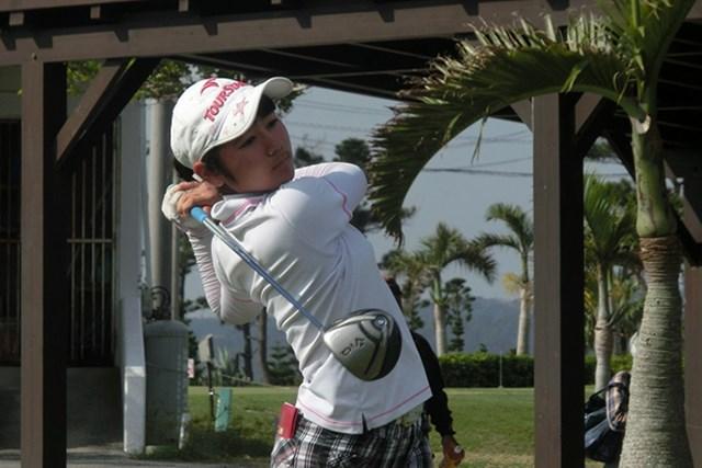 沖縄予選11-12歳女子の部を通過した比嘉里緒菜(写真提供:IJGA)