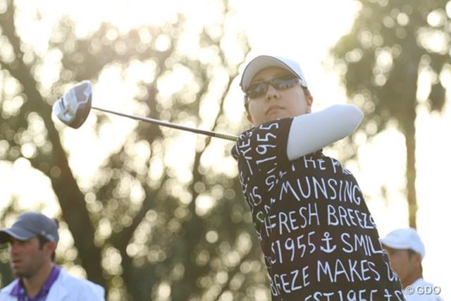 """宮里美香は「メジャーだからこその""""欲""""」?出入りの激しいゴルフで2オーバー51位につけた"""