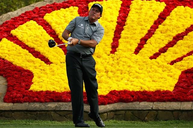 2015年 シェル ヒューストンオープン 2日目 フィル・ミケルソン 2011年大会を制覇。調子を上げてきたフィル・ミケルソンが2位に浮上した(Scott Halleran/Getty Images)