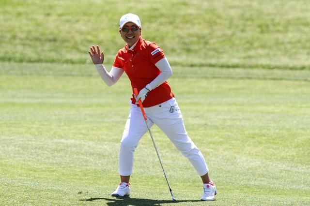 宮里美香は通算1アンダーとして、日本勢最上位の29位に入った