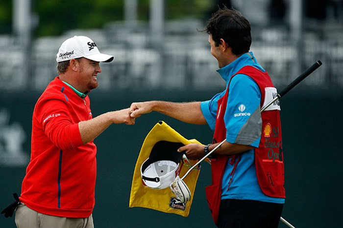 J.B.ホームズがプレーオフを制し通算4勝目を挙げた(Scott Halleran/Getty Images) 2015年 シェル ヒューストンオープン 最終日 J.B.ホームズ
