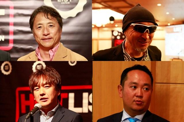 2015年ゴルフクラブの傾向を、特別審査委員の金谷多一郎氏、マーク金井氏、鹿又芳典氏、関雅史氏に聞いてみた