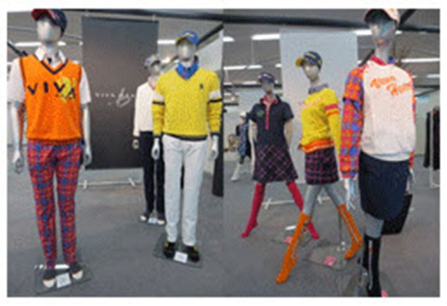 メンズはポロシャツやロングパンツ、パーカーなど、リーズナブルな価格で取り揃えている