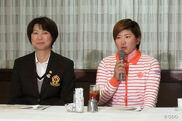 「スタジオアリス女子オープン」で今季初勝利を挙げた成田美寿々。メジャー大会連覇に挑む!